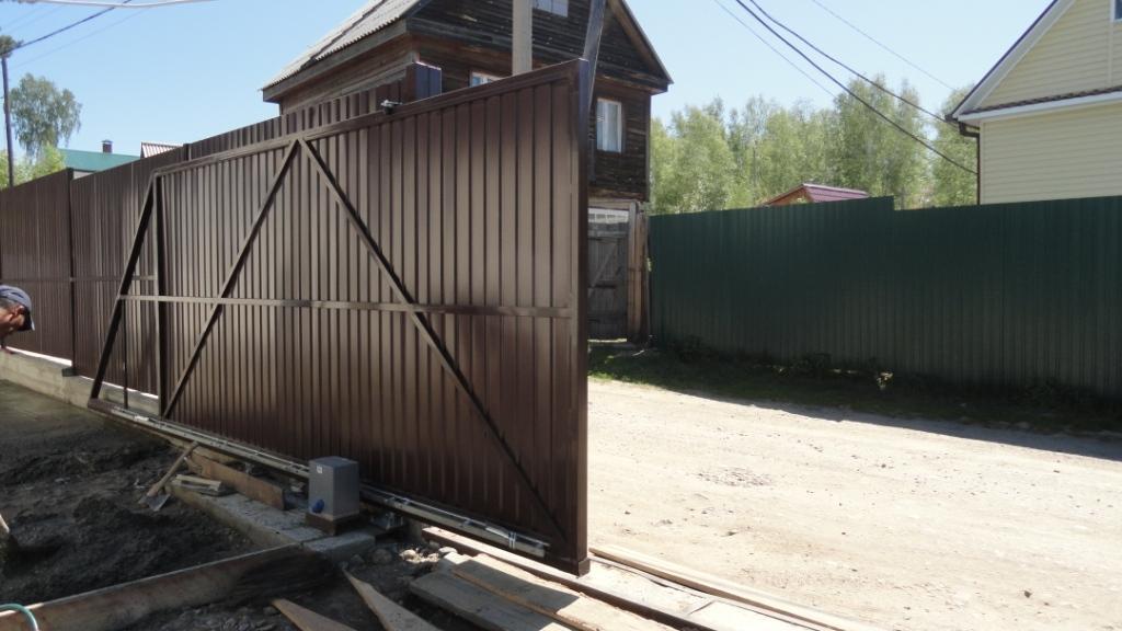 Ворота раздвижные откатные цена мытищи rfhnbyrb металических ворот